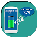 Talking Battery Meter icon