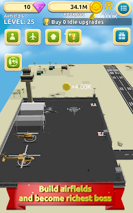 Airfield Tycoon Clicker Game- screenshot thumbnail