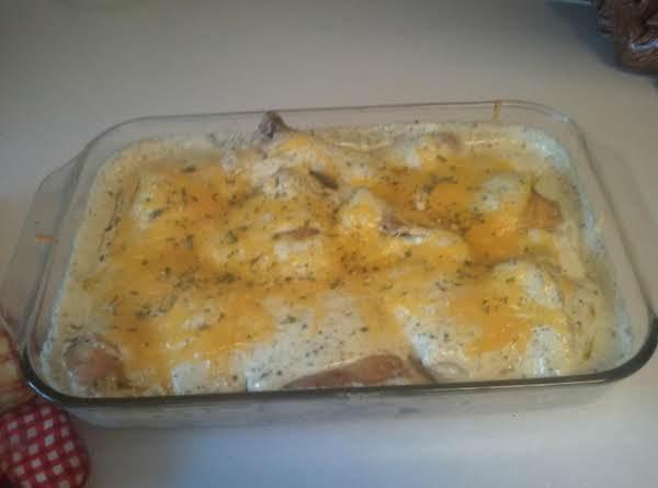 4 Cheese Italian Chicken Bake Recipe