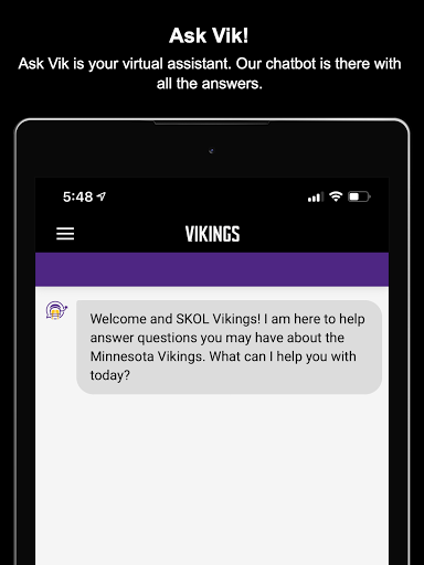 Minnesota Vikings Mobile screenshot 13