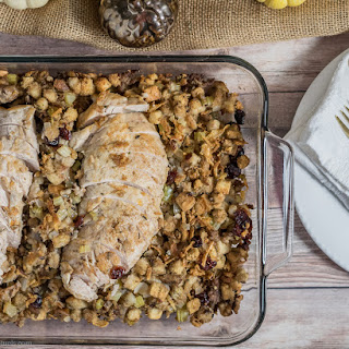 Cornbread Stuffing and Turkey Bake
