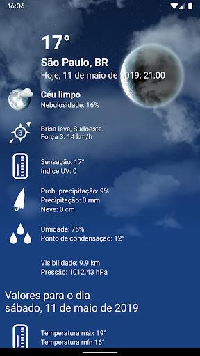 Tempo Brasil Clima XL PRO - previsão 10 dias screenshot 3