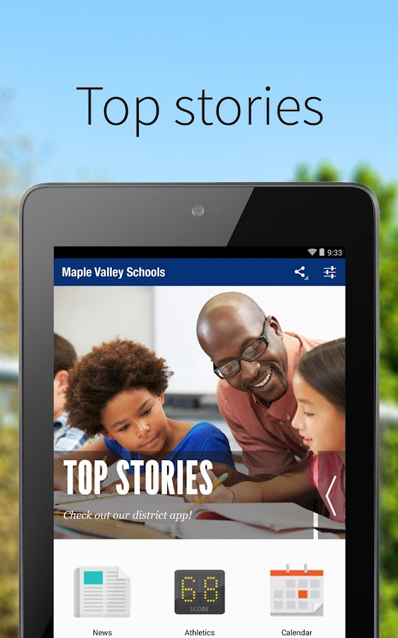 Maple Valley Schools- screenshot