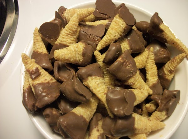Chocolate Peanut Butter Horns Recipe