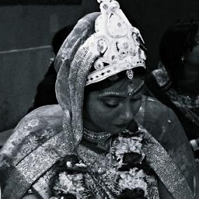 the shyness  by Animesh  Prasad - Wedding Bride