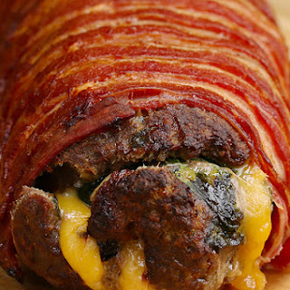 Bacon-Wrapped Burger Roll Recipe