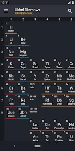 Tabela Periódica 2018 PRO Mod