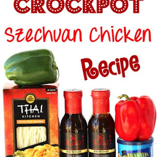 Crockpot Szechuan Chicken
