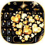 Heart Gold Diamonds Keyboard