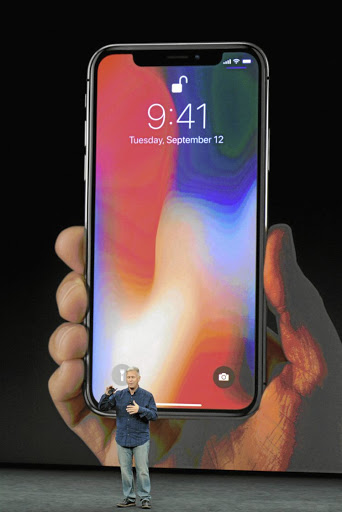 Apple's Phil Schiller introduces the new iPhone X.