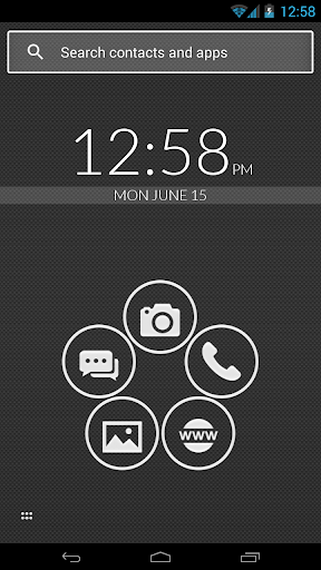Smart Launcher Black and White