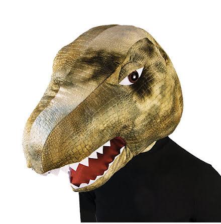 Maskothuvud, dinosaurie