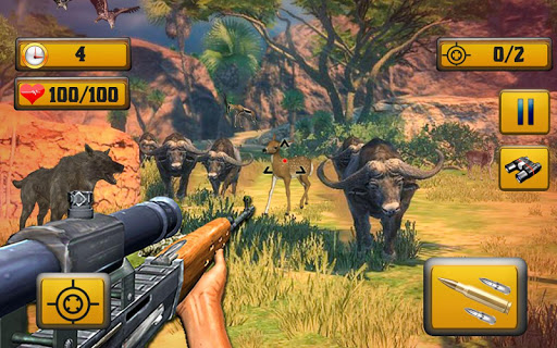 Wild Animal Shooting  screenshots 4