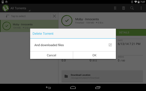 µTorrent®- Torrent Downloader screenshot 23