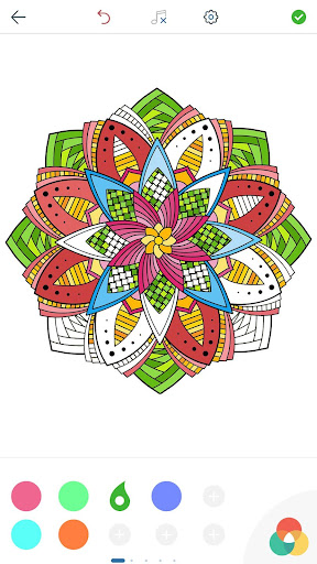 Download Magic Mandalas Coloring Pages Android Apps APK