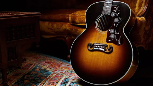 The limited edition Gibson Noel Gallagher J-150 acoustic is out now