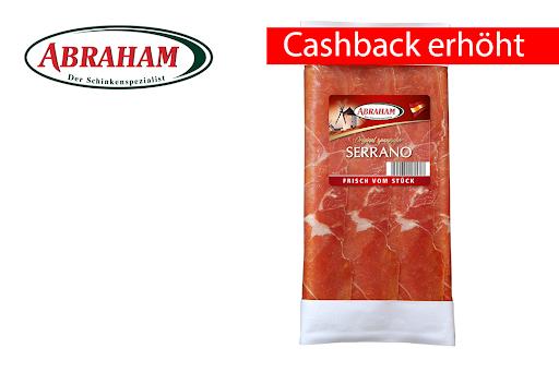 Bild für Cashback-Angebot: Abraham Serrano Schinken 80g - Abraham