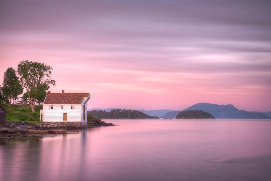 Norwegian coast by John Einar Sandvand - Landscapes Waterscapes ( stord, norway )