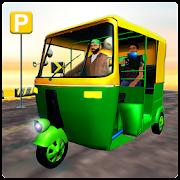Indian Rickshaw Parking
