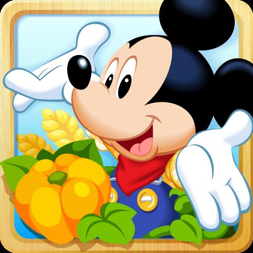 ディズニーの牧場ゲーム:マジックキャッスルドリームアイランド 模擬 App LOGO-硬是要APP
