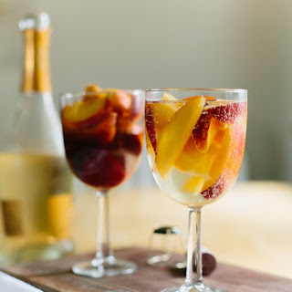 Peaches In Wine, 2 Ways
