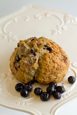 Whole Wheat Oatmeal Blueberry