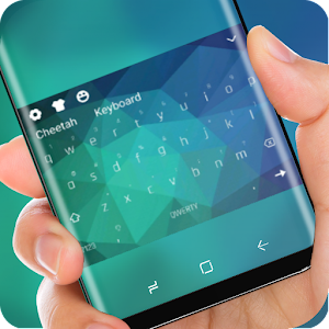 Quiet Blue Keyboard for Samsung Galaxy Note8