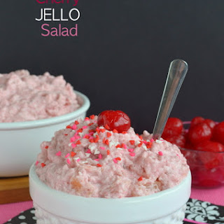 Cherry Jello Salad.