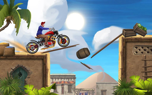 Mini Bike Stunt Trails - Racing Bike Games screenshots 4
