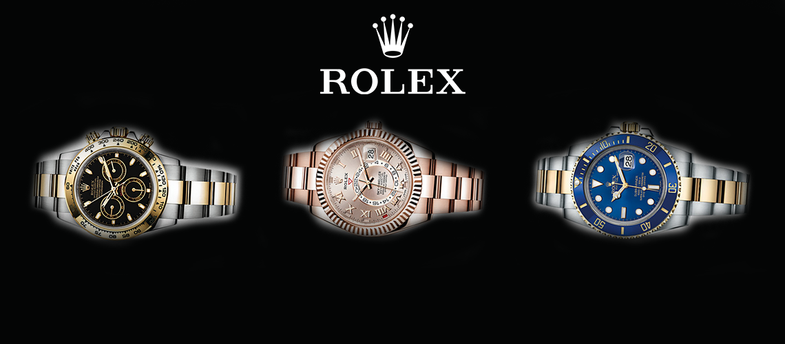 3 rolex watches