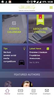 Emirates Literature Foundation - náhled