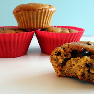 Chocolate Chip Pumpkin Protein Muffin
