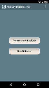 Anti Spy Detector Pro Screenshot