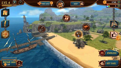 Ships of Battle: Ages of Pirates -Wars u2019n Strategy 2.4.1 screenshots 8