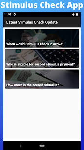 Stimulus Check App 2020 – Stimulus Check Status 1