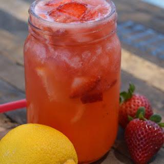 The Best Strawberry Lemonade.