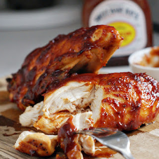 Super Moist Oven Baked BBQ Chicken.