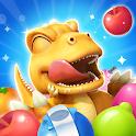 GON: Match 3 Puzzle | Dinosaur jungle adventure icon