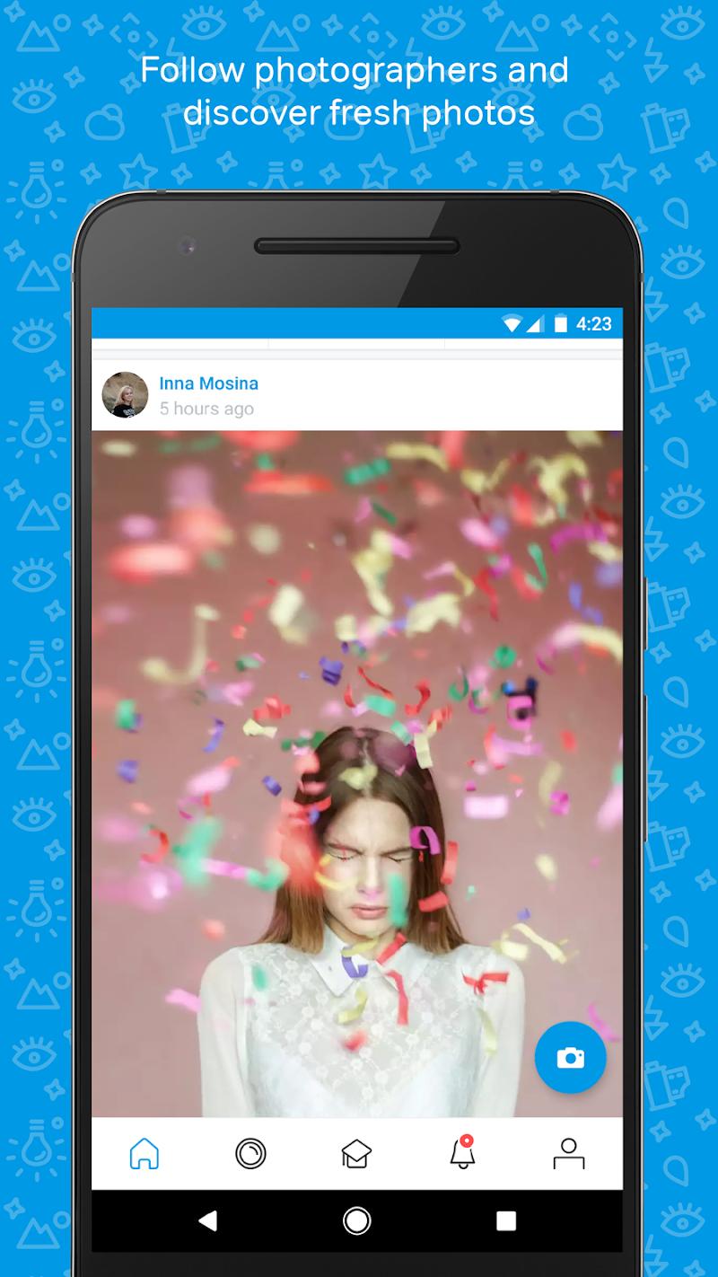 500px – Discover great photos Screenshot
