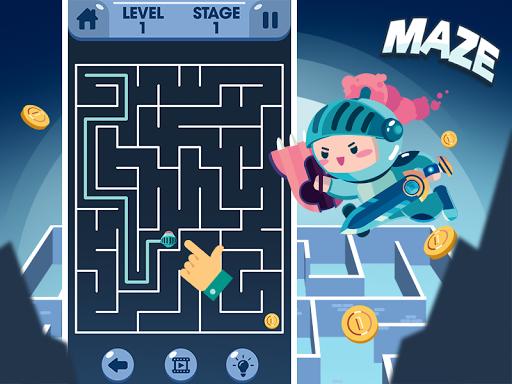 Maze - Jeux Gratuits Hors Ligne APK MOD (Astuce) screenshots 1