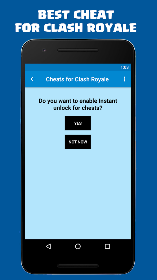 Gems for Clash Royale FREE- screenshot