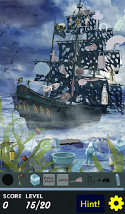 Hidden Object - Walk the Plank- screenshot thumbnail