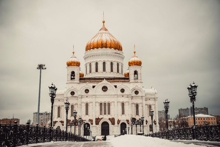 Moscow's Cathedral of Christ the Saviour.