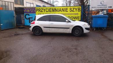 Photo: Renault Megane przyciemnianie szyb venaplex.pl tył folia średniociemna przód folia jasna