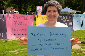 Photo: Reclaim Democracy in America - We the People want a Constitutional Convention!