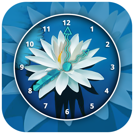 Lotus Clock Live Wallpaper Aplikasi Di Google Play