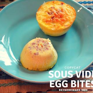 Sous Vide Egg Bites - Copycat Recipe