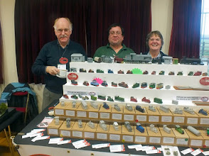 Photo: 006 Spotlight on the traders. This time it is the turn of Chris and Christine Ward who are ever-present with their 3D CWR models at events large and small throughout the country. Son Colin joined them for this day out in Somerset .