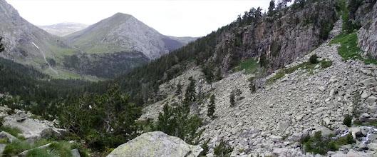 Photo: La Vall de Vallhibierna vista des del barranc de Corones