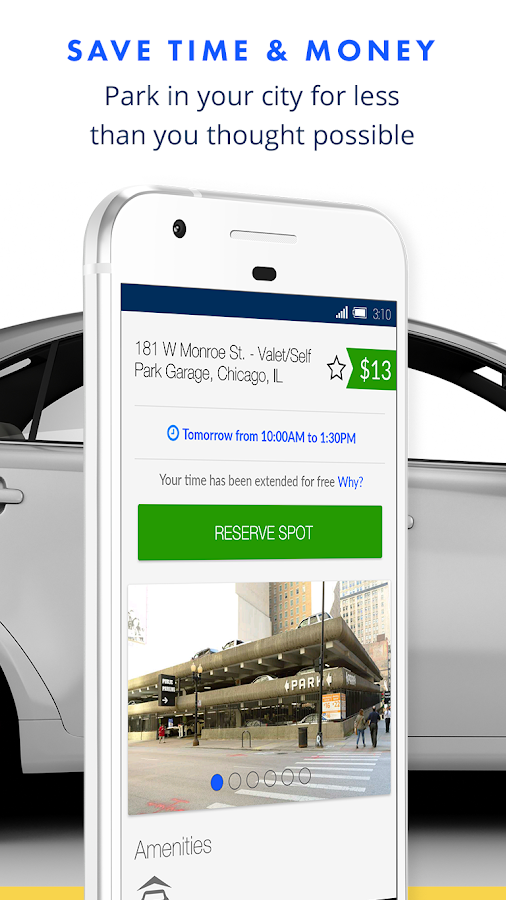 SpotHero: Get Parking Deals Nearby- screenshot